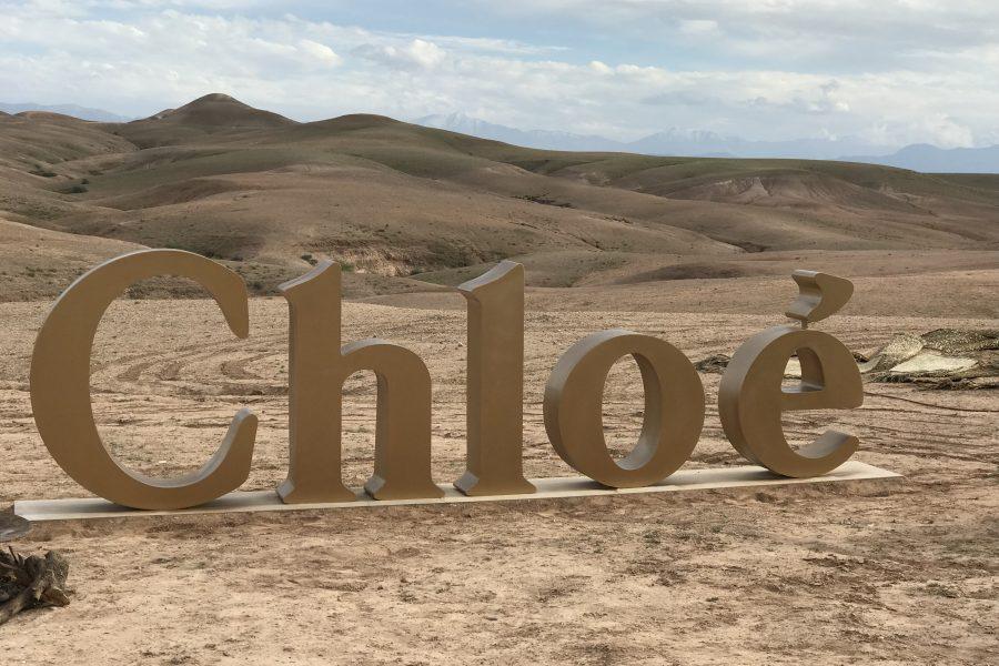 Lancement du parfum Nomade de Chloé