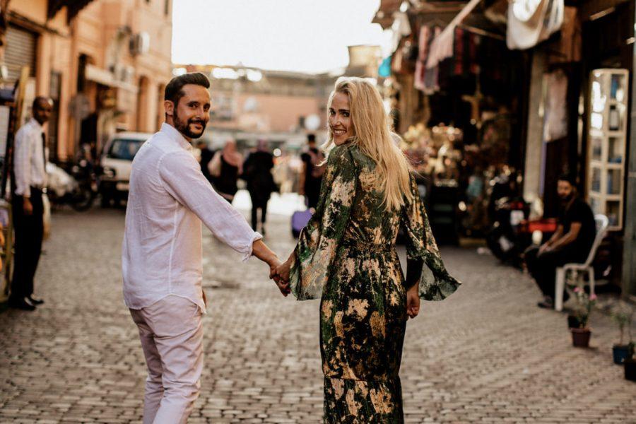Pre-wedding dans la médina